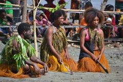Maskowego festiwalu tradycyjna kultura Papua - nowa gwinea Fotografia Royalty Free