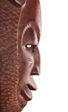 Maskowy afrykanina profil Fotografia Stock