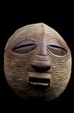 maskowy Afrykanina round Fotografia Royalty Free