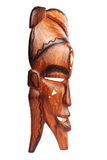 maskowy drewniany fotografia stock