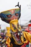 Maskowy ducha festiwal 2017 Zdjęcia Royalty Free