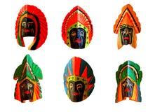 maskowy koloru drewno Zdjęcie Royalty Free