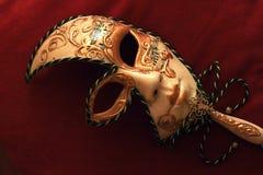 maskowy venetian Zdjęcia Royalty Free