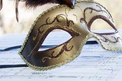 maskowy venetian Zdjęcie Stock