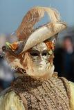 maskowy venetian Zdjęcia Stock