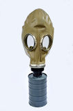 Masks. 1 gas masks placed on a white background Royalty Free Stock Photo