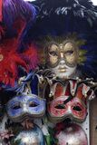 Masks. Colourful venetian masks in venice Stock Images