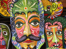 Masks. Of different colors Mask Stock Image