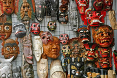 Masks Stock Photography