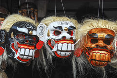 Masks in Bali Royalty Free Stock Photos