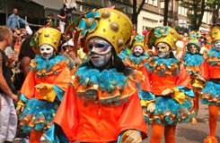 Masks at the Carnaval Stock Image