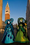 Masks, Carnival of Venice Stock Images