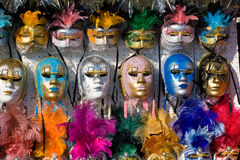 Masks And Colors Royalty Free Stock Images