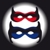 Masks on dark background Royalty Free Stock Photos