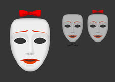 Masks and feelings Royalty Free Stock Photo