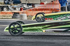 Masks and fronts wheel racing cars Stock Photography