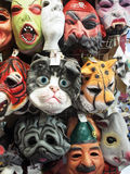 Masks for Halloween Stock Images