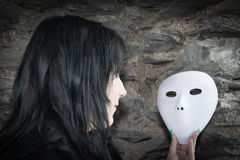 Masks image Stock Photography