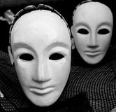 Masks of the Japanese theatre Stock Photos