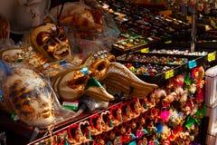 Masks at market Royalty Free Stock Photos