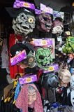 Masks at market Royalty Free Stock Photo