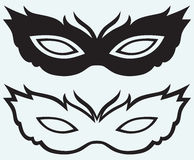 Masks for masquerade costumes Stock Photo