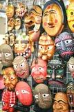Masks national Korean Royalty Free Stock Images