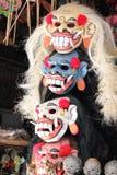 Masks. Photo image colorful indonesian masks Stock Photo