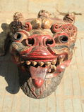 Masks pottery. Royalty Free Stock Images