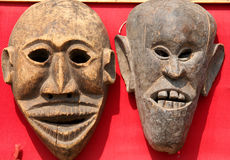 Masks on sale Royalty Free Stock Image