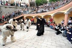 Masks of Sardinia Stock Photos
