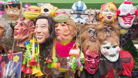 Masks in a store Stock Photo
