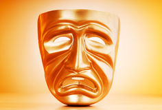 Masks - theatre concept. Masks with the theatre concept Stock Photography
