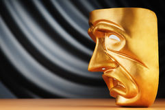 Masks - the theatre concept. Masks with the theatre concept Royalty Free Stock Photos