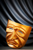 Masks - the theatre concept. Masks with the theatre concept Royalty Free Stock Images