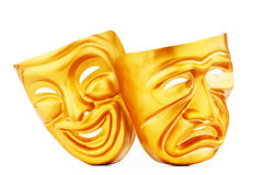 Masks - the theatre concept. Masks with the theatre concept Stock Images