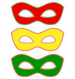 Masks traffic light Royalty Free Stock Photography