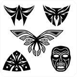 Masks - Vector set. Royalty Free Stock Photography