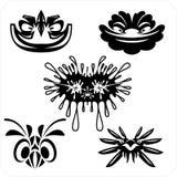 Masks - Vector set. Stock Images