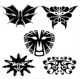 Masks - Vector set. Royalty Free Stock Photos