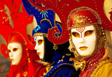 Masks in Venice Royalty Free Stock Photos