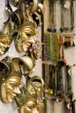Masks in Venice. Masks and souvenirs in Venice, Italy Stock Photography