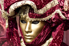 The masks of Venice. Professional mask I've seen during the carnival held in Venice in Italy, February 2009 Stock Photo