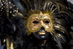 The masks of Venice stock image