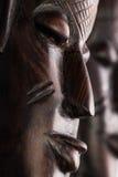 Maskuje afrykańskiego zbliżenie Zdjęcie Stock