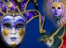 maskuje tradycyjny venetian Obrazy Royalty Free