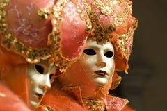maskuje Venice zdjęcia stock