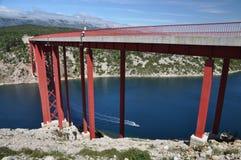 Maslenica Bridge Stock Photo