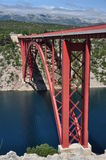 Maslenica Bridge Royalty Free Stock Photography