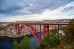 Maslenica-bridge Royalty Free Stock Images